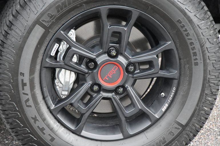 2021 toyota sequoia trd pro bbs wheels