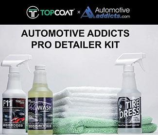 automotiveaddicts pro detailer kit topcoat