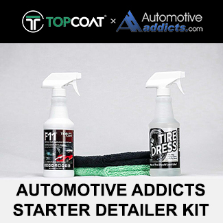 automotiveaddicts starter detailer kit topcoat